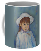 Girl With A Hat Coffee Mug