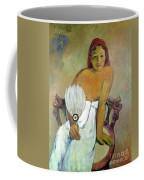 Girl With Fan Coffee Mug