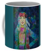 Girl With Kaleidoscope Eyes Coffee Mug
