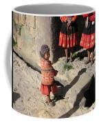 Girl With Puppy Coffee Mug