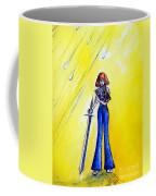 Girl With Sword. Astral Traveler Coffee Mug