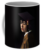 Girl With The Grad Cap Coffee Mug