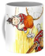 Girl's Basketball Coffee Mug