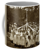 Girls  Doing The Maypole Dance Pacific Grove Circa 1890 Coffee Mug