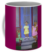 Girl's Dreaming Of Being Women Coffee Mug