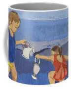 Girls On Beach Coffee Mug