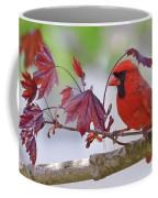 Give Me Shelter - Male Cardinal Coffee Mug