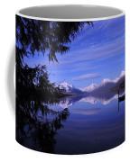 Glacier At Dusk Coffee Mug