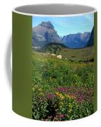 Glacier Blooms Coffee Mug