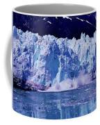 Glacier - Calving - Reflection Coffee Mug