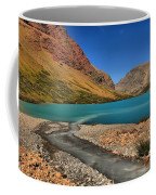 Glacier Cracker Lake Coffee Mug