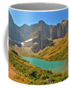 Glacier Cracker Lake Panorama Coffee Mug