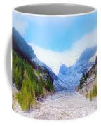 A Glacier In Mt. Rainier Coffee Mug