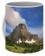 Glacier National Park At Logan Pass Coffee Mug