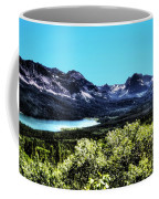 Glacier National Park Views Panorama No. 01 Coffee Mug