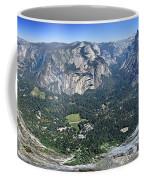 Glacier Point Panorama - Yosemite Valley Coffee Mug