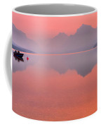 Glacier Smokey Summer Reflections Coffee Mug