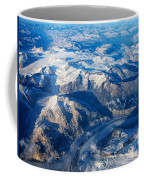 Glaciers In The Coast Range British Columbia Canada Coffee Mug by Mary Lee Dereske