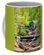 Glade Creek Grist Mill 3 - Paint Coffee Mug
