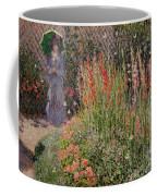Gladioli Coffee Mug by Claude Monet