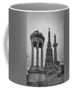 Glasgow Necropolis Graveyard Memorials Coffee Mug