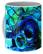 Glass Abstract 226 Coffee Mug by Sarah Loft