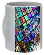 Glass Abstract 696 Coffee Mug