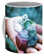 Glass And Stone Coffee Mug