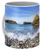 Glass Beach, Fort Bragg California Coffee Mug