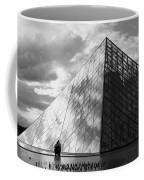 Glass Pyramid. Louvre. Paris.  Coffee Mug