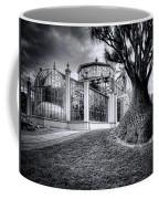 Glasshouse And Tree Coffee Mug