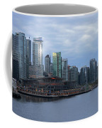 Gleaming Cityscape. Vancouver At Dawn  Coffee Mug