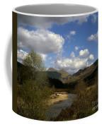 Glen Strontian And The River Strontian Sunart Western Highlands Scotland Coffee Mug