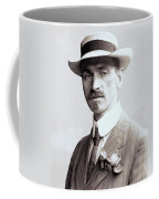 Glenn Curtiss - Aviation Pioneer And Father Of Aircraft Industry - 1909 Coffee Mug