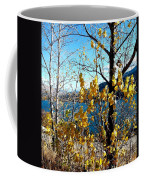 Glimpse Of Kalamalka Lake Coffee Mug