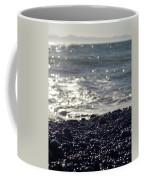 Glistening Rocks And The Ocean Coffee Mug