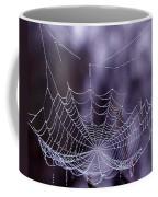 Glistening Web Coffee Mug