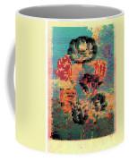 Glitched Tulips Coffee Mug