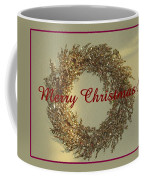Glittery Wreath Coffee Mug