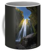 Gljufrabui Iceland Waterfall Coffee Mug