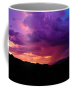 Globe Sunset Coffee Mug