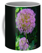 Globe Thistle Flowers Coffee Mug