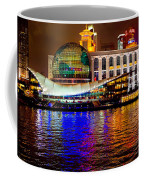 Globes On The Bund At Night Coffee Mug