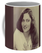 Gloria Swanson, Vintage Actress Coffee Mug