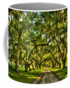 Glorious Entrance Tomotley Plantation South Carolina  Coffee Mug