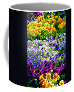 Glorious Pansies Coffee Mug