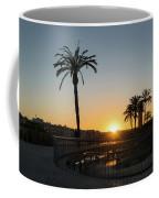 Glorious Sevillian Sunset With Palms Coffee Mug