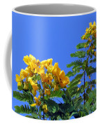 Glossy Shower Senna Tree Coffee Mug