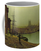 Gloucester Docks Coffee Mug by John Atkinson Grimshaw