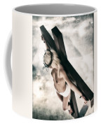 Glow Crucifix I Coffee Mug